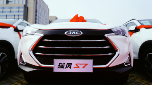 江淮汽车青岛圣豪青岛市党政机关公务用车交车仪式通稿(1)(3)410